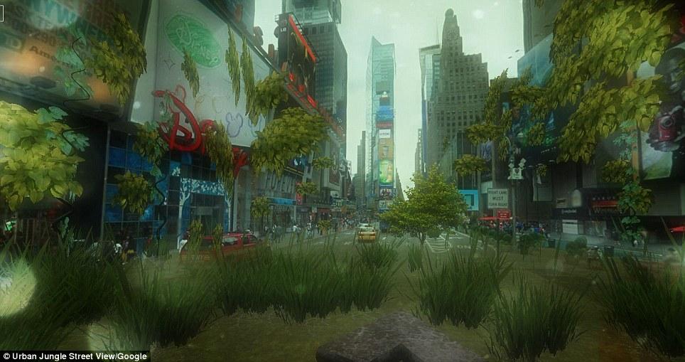 Cheap 3d Wallpaper Uk Google Post Apocalypse View Turn Your Neighbourhood Into
