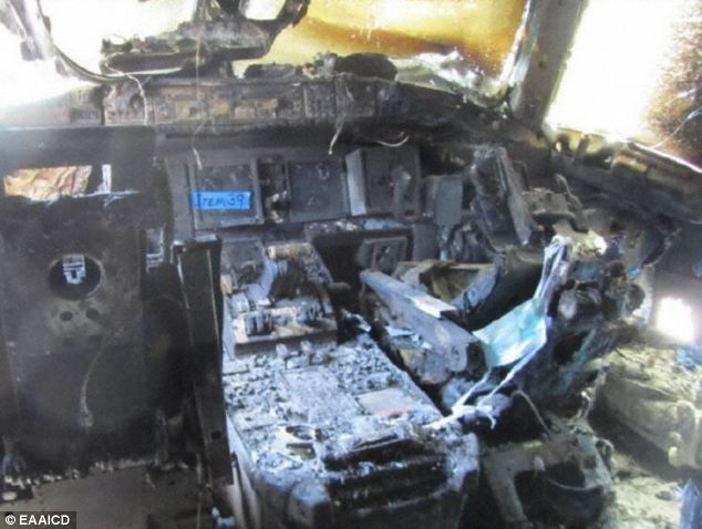 Mh370 39flight Deck Fire39 Similar To One That Broke Out On