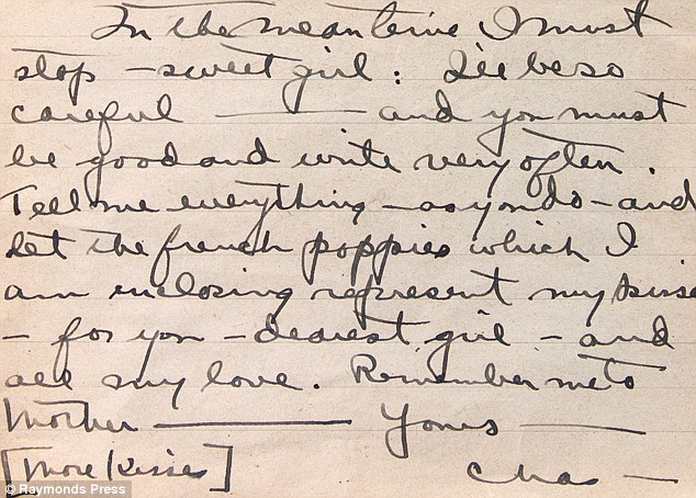 Flower from WW1 battlefield found in love letter posted from