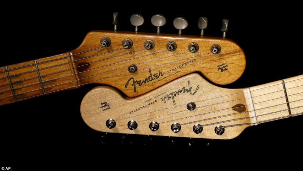2 Year Old Girls Happy Birthday Wallpaper Fender Stratocaster Guitar Celebrates Its 60th Anniversary
