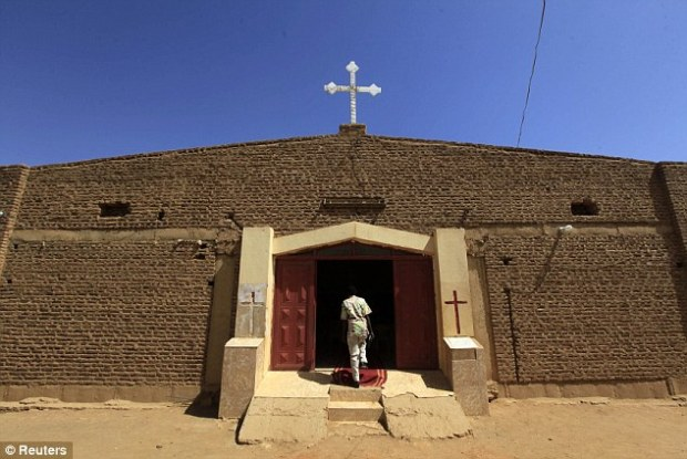 Uncertain future: Sudan's President Omar Hassan al-Bashir has said he wants to adopt a '100 percent' Islamic constitution now that the South has split off. The government says the new constitution will guarantee religious freedom, but many Christians are wary