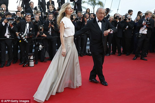 Amber Heard Sends Pulses Racing At Cannes Film Festival
