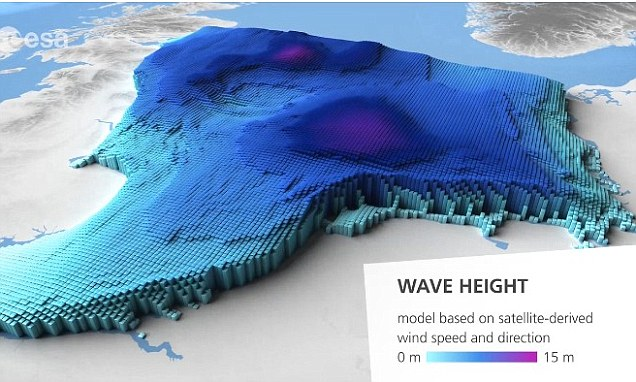 3D animations reveal the height of ocean waves and could help - ocean waves animations