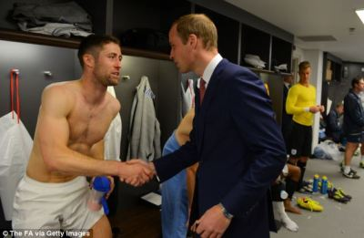Prince William meets the England team ahead of World Cup to wish them luck   Daily Mail Online