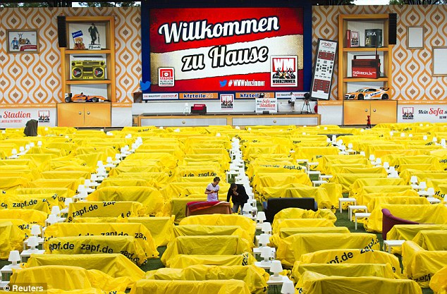 Sofas Around The World Union Berlin Invite Fans To Bring Sofas Into Their Stadium