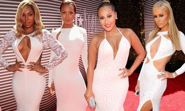 Bet Awards 2014 Red Carpet Heats Up With Paris Hilton