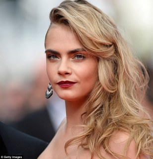 Cara, 21, is known more for her catwalk success and party lifestyle than strong feminist leanings
