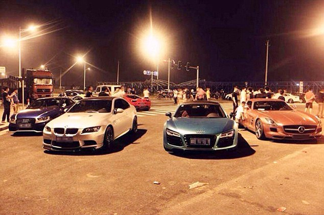 Street Racing Cars Wallpaper With Girls China S Fast And Furious Boy Racers Top Of The Range Bmws