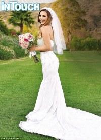 Scheana Marie wears unique wedding dress to marry Michael ...
