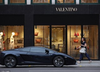 A number of the supercars have been spotted with parking tickets while others have been driving around with incorrect registration plates