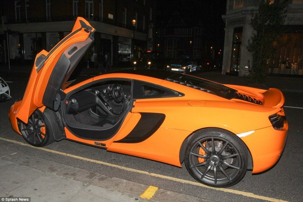 There are car doors... and then there are car doors, as this McLaren shows