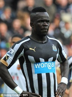 Newcastle United's Cheick Tiote reportedly also has a mistress, as well as his two wives