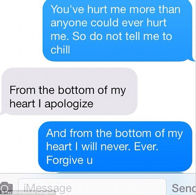 Cute Love Quotes Wallpapers For Him Is One Of Your Texts To An Ex Here Hilarious Messages