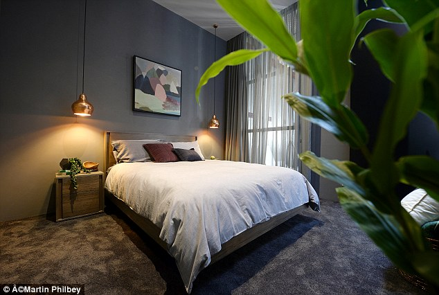3d Wallpaper For Master Bedroom Simon And Shannon Win The Block Glasshouse Daily Mail Online
