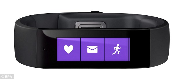 Microsoft Band monitors your fitness levels and sleep quality for - microsoft exercise
