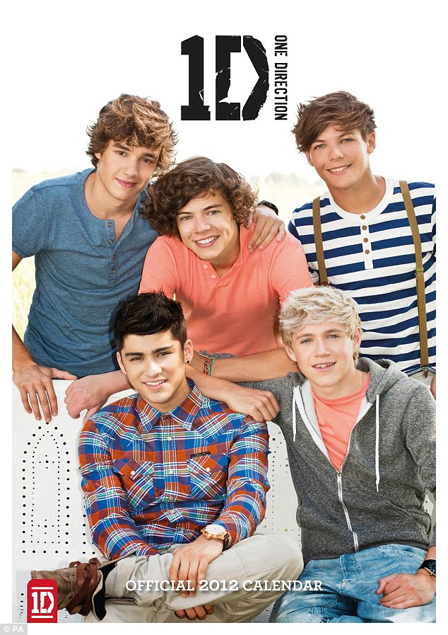 Online Calendar 2012 Uk Calendarclubcouk One Direction From Fresh Faced Reality Contestants To