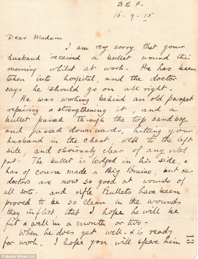 Christmas Day Truce 1914 Letter From Trenches Shows First World War Postcards From Frontline Soldier To Wife