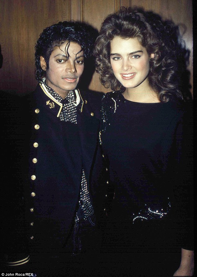 Cute Together Forever Wallpaper Michael Jackson Wanted To Be Godfather To Brooke Shields