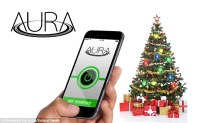 Aura Christmas tree lights are powered by magnetic field ...