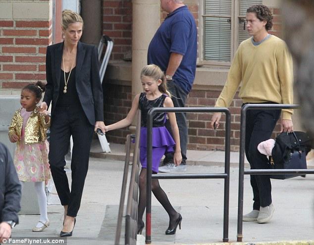 Heidi Klum Takes Her Kids To See The Nutcracker Ballet