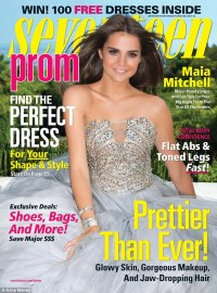 Maia Mitchell dishes dating advice for Seventeen's prom ...