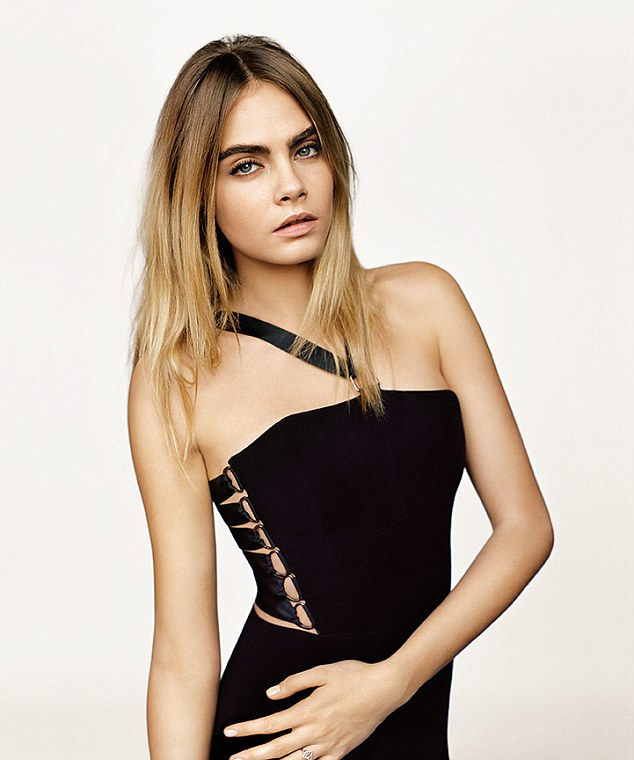 Silver Animal Print Wallpaper Now You Can Buy Cara Delevingne S Sexy Black Dress Model