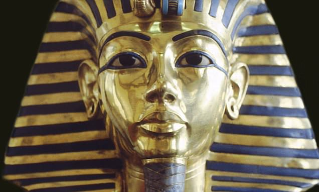 Family Room Chandelier Tutankhamun's Burial Mask Is Permanently Damaged After
