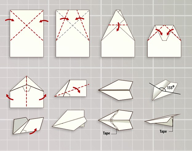 How to fold a record-breaking paper plane Maker reveals aerodynamic