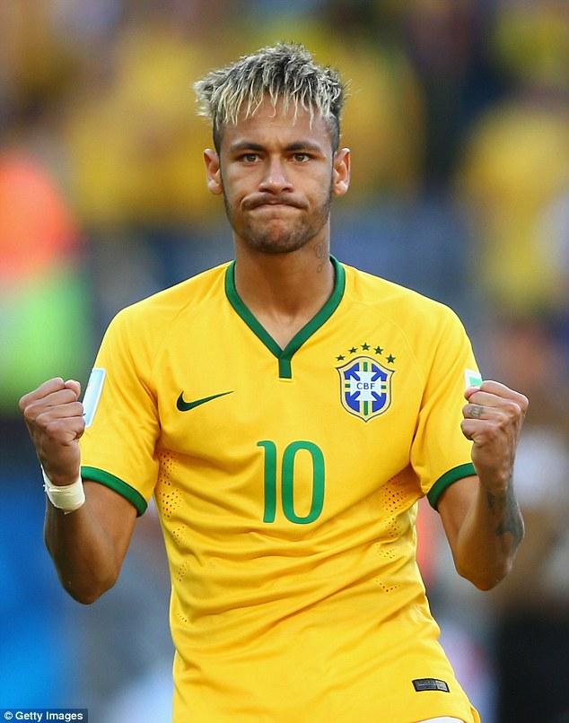 Wallpaper Brazil Girl Neymar Jr Gives His Best Zoolander Impression As New Face