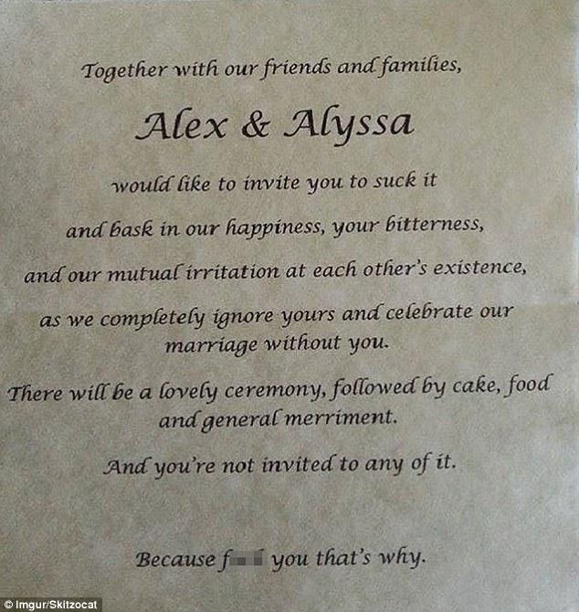 WEDDING INVITATION SAMPLE LETTER
