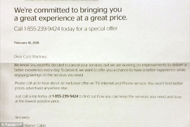 Time Warner Cable changes customer\u0027s name to \u0027C***\u0027 after she