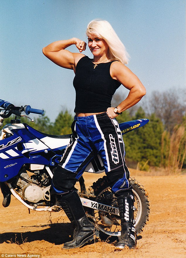 Frame Arms Girl Wallpaper Olympic Gold Medalist Juli Moody Stops Motorcycles Using