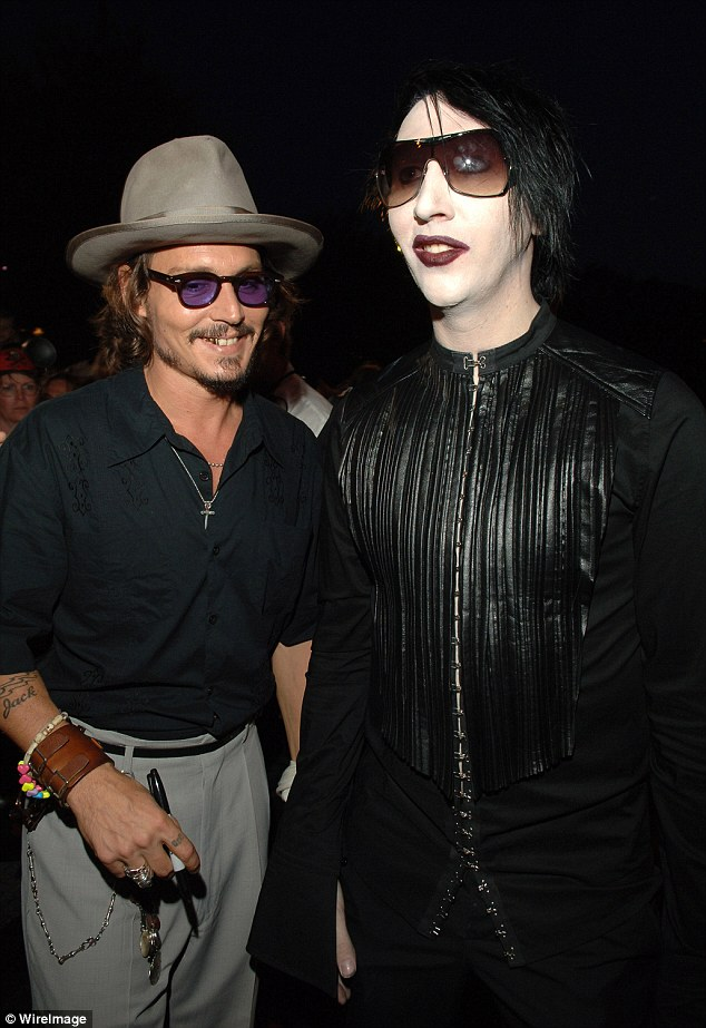 Marilyn Manson Quotes Wallpaper Johnny Depp Joins Marilyn Manson On Stage In Brisbane