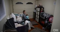 Meet the single mother living in a 250-sqft GARAGE ...