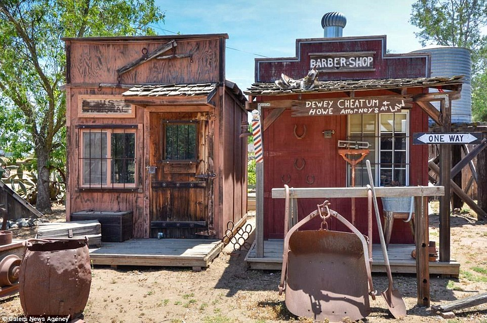 3d Wallpaper Cowboys Valley Center Wild West Town Goes On Sale In San Diego