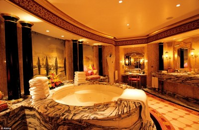 Inside Hotel Bling! Unashamed luxury - or epic vulgarity? Either way every year 11,000 Brits ...