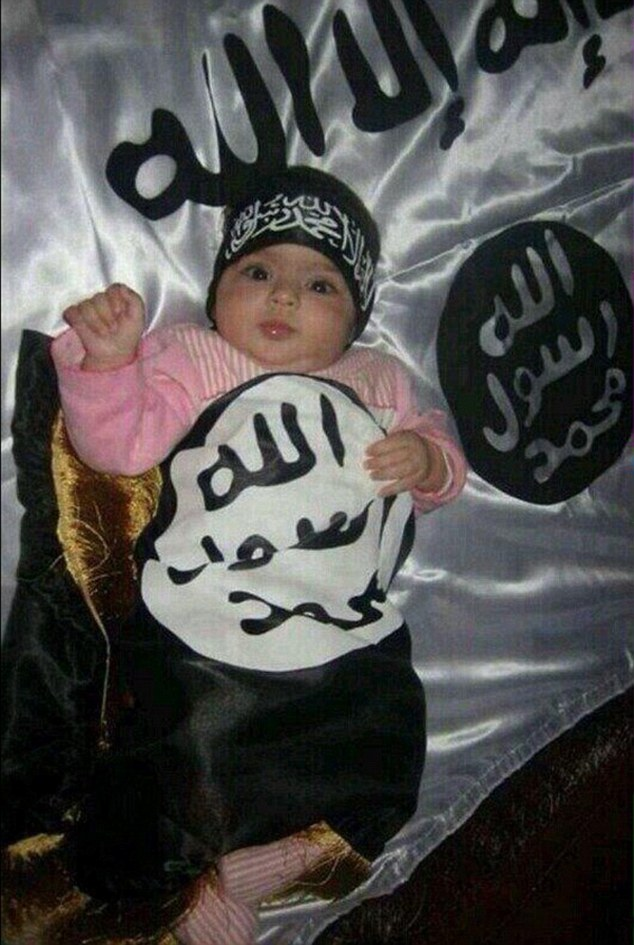 Cheap Black And White Wallpaper The Shocking World Of Isis Fashion Daily Mail Online