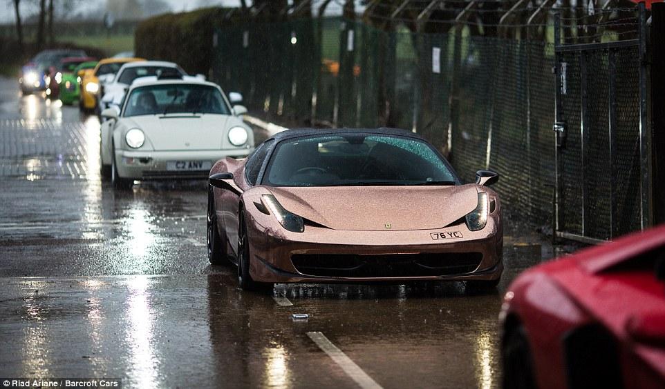 Ferrari 458 Italia Wallpaper Hd 163 20m Worth Of The World S Fastest Supercars Brave Rain For
