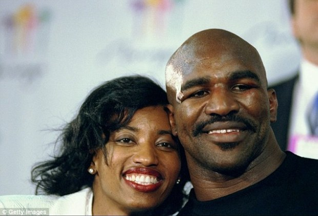 Divorce: Evander Holyfield and his second wife Janice became involved in an ugly divorce. In the course of it the Rev Creflo Dollar was held in contempt for refusing to be deposed over finances and warned he faced prison