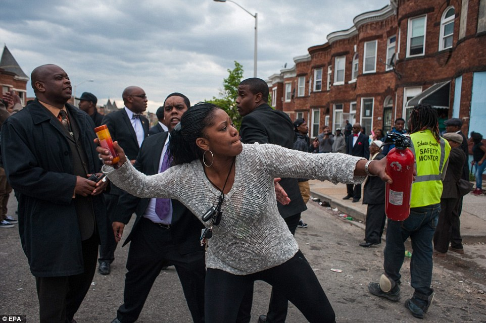 Baltimore Police And Freddie Gray Rioters Turn City Into