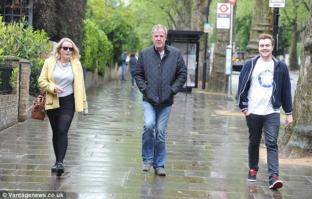 Jeremy Clarkson Steps Out With Daughter Emily And Son