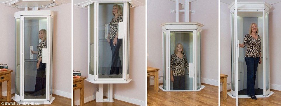 Lifestyle Lift Could Replace Stairlifts In Homes Daily