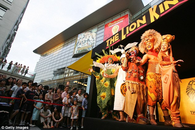 first cast on broadway for the lion king