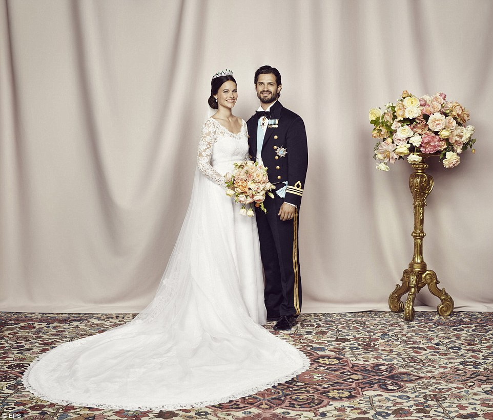 Hochzeit England Prince Carl Philip And Sofia Hellqvist's Official Wedding
