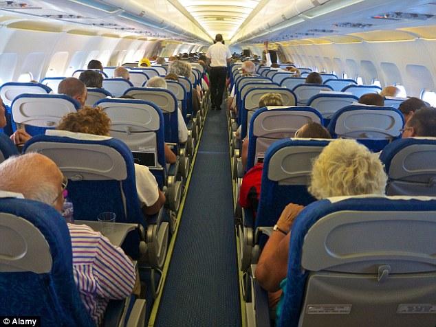 Image Of Flight Window Seat Broken Southwest Airlines