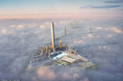 Dubai to build the world's highest residential tower The Dubai One tower | Daily Mail Online