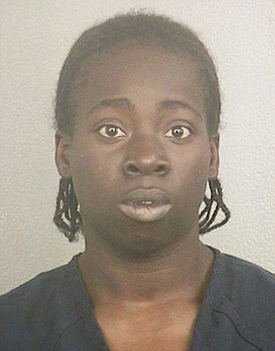 Arrested:Shantrell Owens, 24, was arrested for domestic battery and resisting arrest