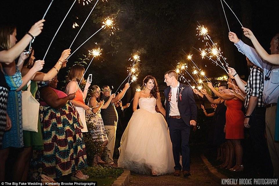 Big Fake Weddings\u0027 help overwhelmed couples test drive venues - how to fake a marriage