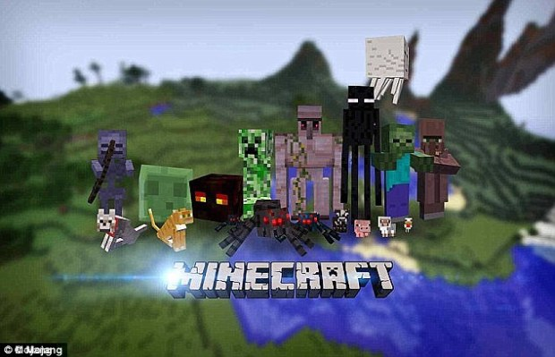 Hugely successful: He launched the hit computer game Minecraft in 2009, in which players can build an entire world using retro-looking blocks