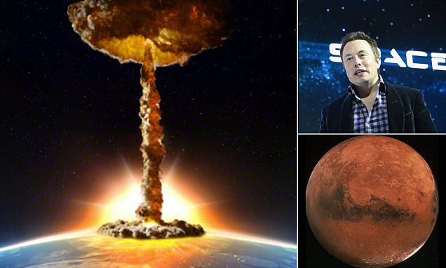 Nuclear Warheads Would Heat Mars To Make It More Earth